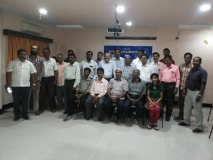 Chennai Event Emcees Nandhini and Thamizharasan at Alandur Rotary Club