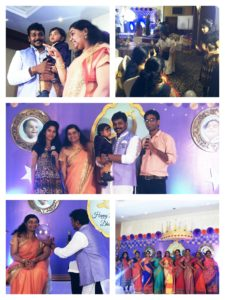 Dheeshith's 1st Birthday Party at Asian Hotel_Chennai Emcees Thamizh and Nandhini