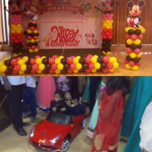 Chennai Master of Ceremonies Nandhini and Thamizharasan hosting Birthday Party