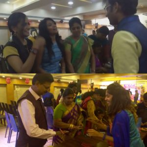 Chennai Event Anchors Nandhini and Thamizharasan hosting Birthday Party