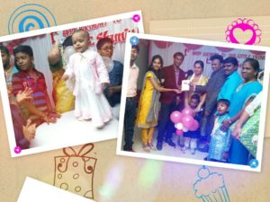Shamiyutha's 1st Birthday hosted by Chennai Party MCs Nandhini and Thamizh Gallery