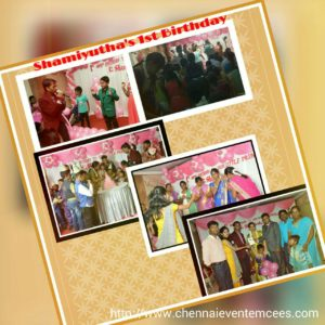 Shamiyutha's 1st Birthday hosted by Chennai Party MCs Thamizh and Nandhini Gallery