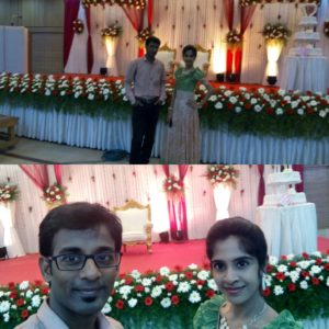 Tamilnadu Event Emcees Nandhini and Thamizharasan at Golden Jubilee Wedding Anniversary