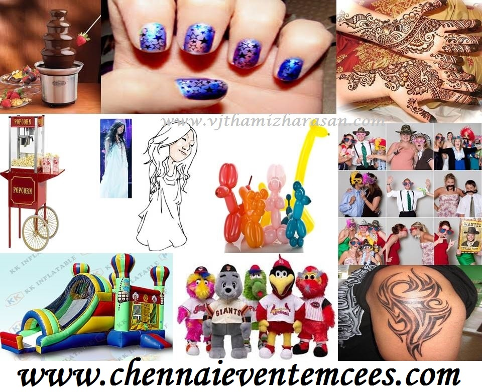 Other Event Services - Stall activities for a birthday party