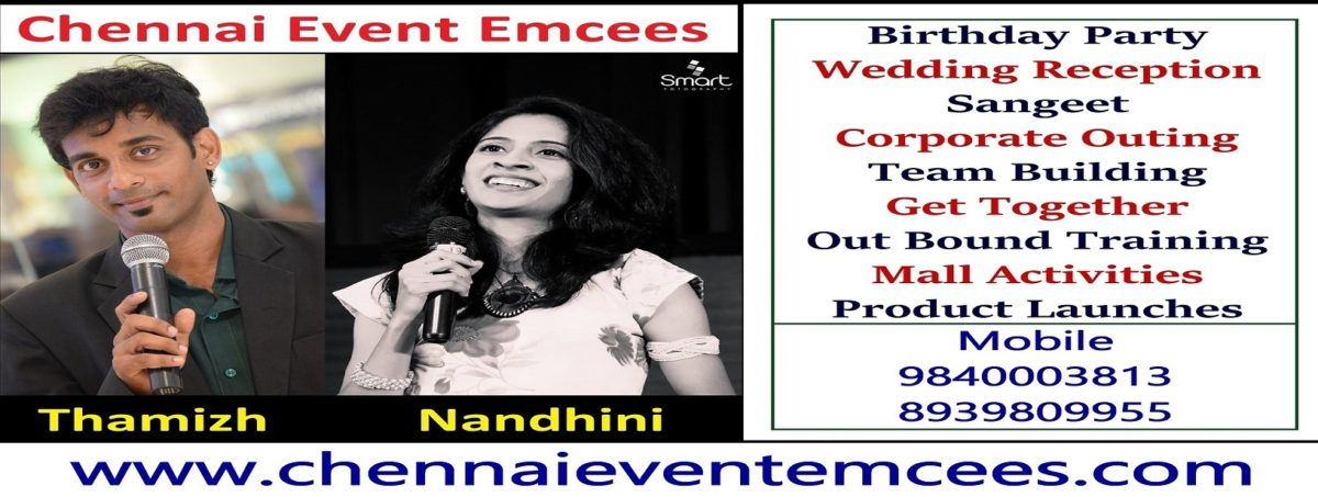 Professional Event Emcees in Chennai