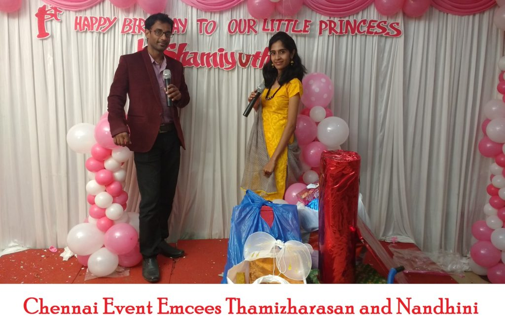 chennai-birthday-party-event-emcees-thamizharasan-and-nandhini
