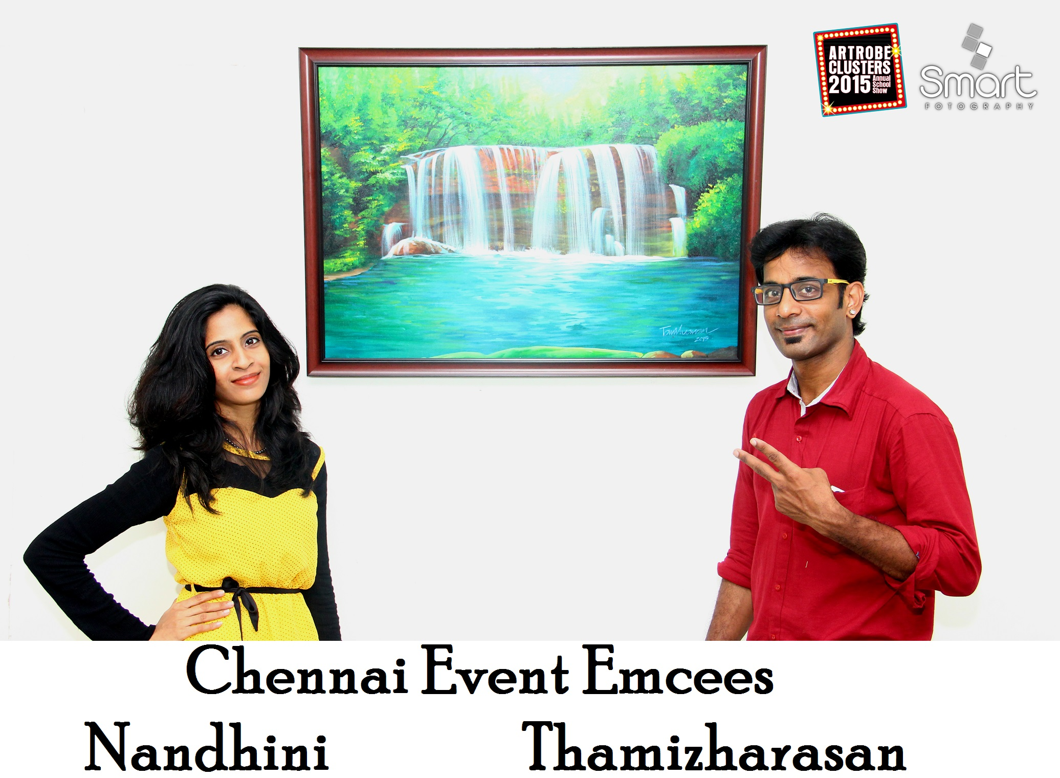 chennai-school-event-emcees-nandhini-and-thamizharasan