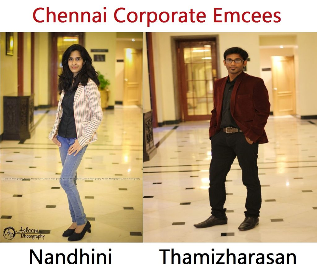 tamilnadu-corporate-emcees-nandhini-and-thamizharasan