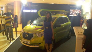 Product Promotions Chennai Corporate Emcee Nandhini at Phoenix Market City for Datsun