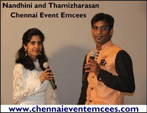 Chennai Corporate Event Emcees Nandhini and Thamizharasan about Importance of Training