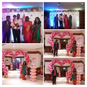 Chennai Event Emcees Thamizharasan and Nandhini hosting Birthday Party Event at Hotel Accord