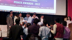 National Peace Conference & Awards at New Delhi hosted by Chennai Event Emcees Thamizharasan & Nandhini - Organized by Social Protection orgnization