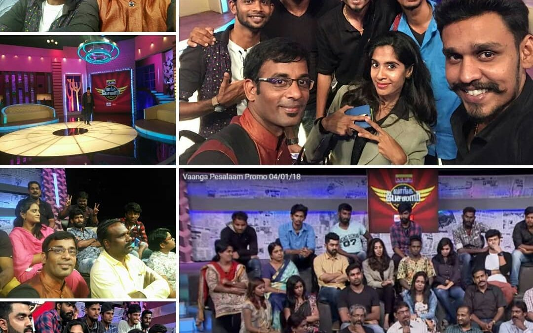 Vaanga Pesalaam Talk show in Sun TV and Vikatan TV (Online) Profession, Entrepreneurship_Chennai Event Emcees and Entertainers