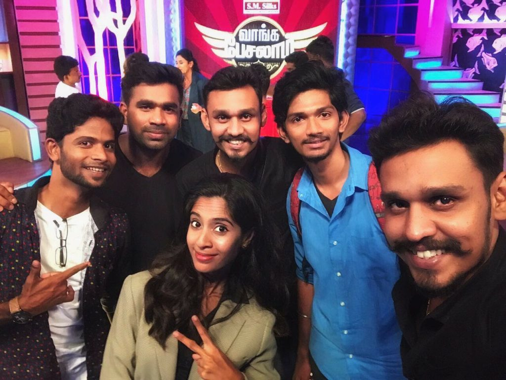 Vaanga Pesalaam Talk show in Sun TV and Vikatan TV Online Chennai Event Emcees and Entertainers Nandhini and Thamizharasan on Profession and entrepreneurship