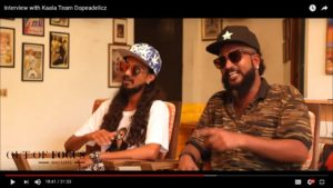 Out of Focus Interview with Kaala Movie Rappers Dopeadelicz Team Tony and Rajesh from Dharavi Chennai Event Acnhors Nandhini and Thamizharasan