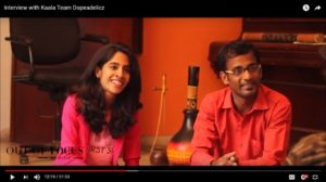 Out of Focus Interview with Kaala Movie Rappers Dopeadelicz Team from Dharavi Chennai Event Acnhors Nandhini and Thamizharasan