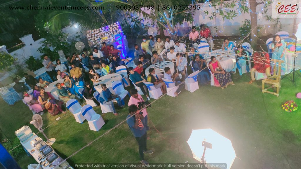 Wedding Sangeet Ceremoney Home Party by Chennai Event Emcees