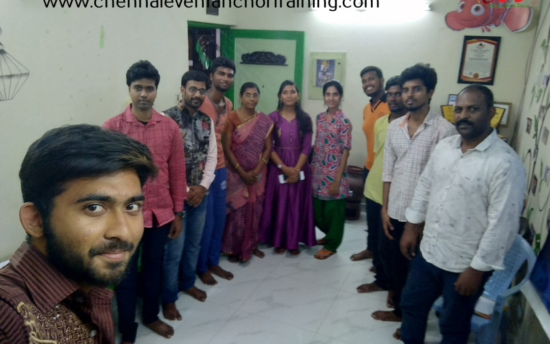 Chennai Event Emcees CEE Open house and MC Training Induction 14th April 2019